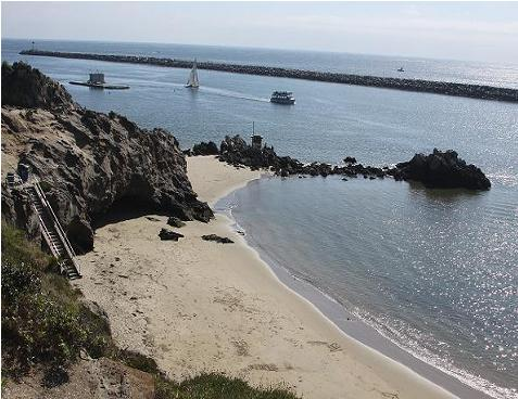 Pirate's Cove Beach in Corona Del Mar