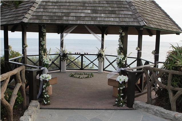 Laguna Beach Gazebo Wedding