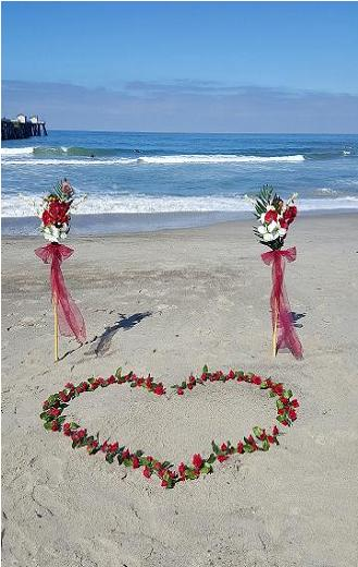 Tiki Beach Wedding